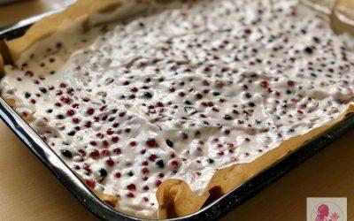Letní rybízový koláč od babičky
